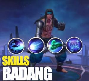 Skill Badang Hero Baru Mobile Legends